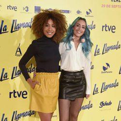 Tamy Nuse y Sonia González en el estreno de la película 'La Llamada'