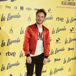Rubén Ochendiano en el estreno de la película 'La Llamada'