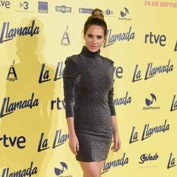 Vanesa Romero en el estreno de la película 'La Llamada'