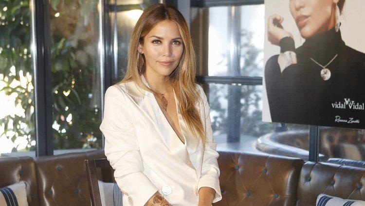 Rosanna Zanetti en la presentación de la colección de joyas de Vidal&Vidal