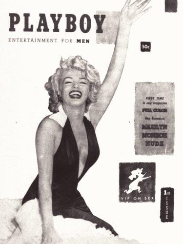 Marilyn Monroe en la portada de 'Playboy'