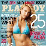Jessica Alba posa en bikini para 'Playboy'