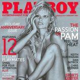 Pamela Anderson en una de las portadas de 'Playboy'