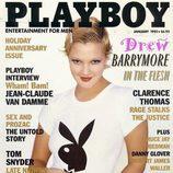 Drew Barrymore aparece en 'Playboy' en 1995