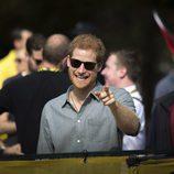 El Príncipe Harry, muy sonriente en los Invictus Games de Toronto