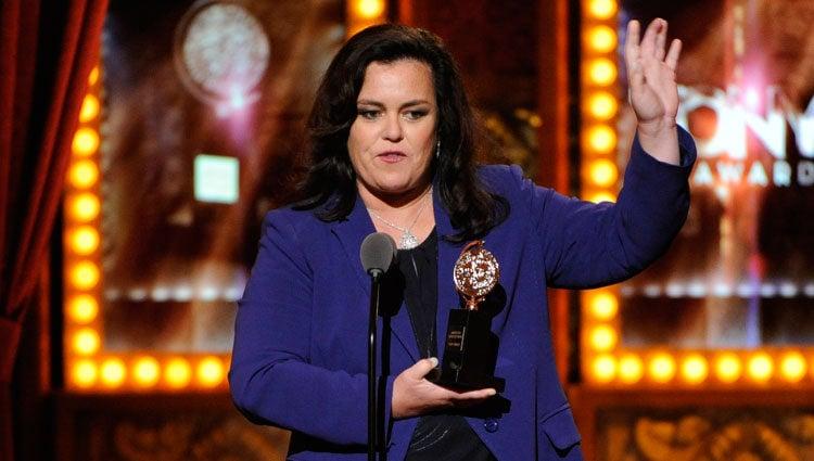 Rosie O'Donnell en la 68º edición de los premios Tony