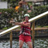 Juan Urdangarin practicando wakeboard en Mallorca