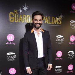 Iván Sánchez en el estreno del musical 'El Guardaespaldas'