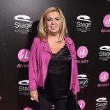 Carmen Borrego en el estreno del musical 'El Guardaespaldas'