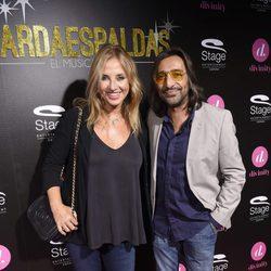 Antonio Carmona y Mariola Orellana en el estreno del musical 'El Guardaespaldas'