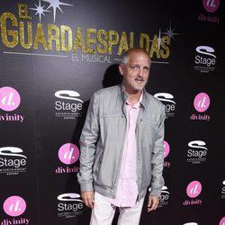Jordi Rebellón en el estreno del musical 'El Guardaespaldas'