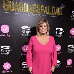 Terelu Campos en el estreno del musical 'El Guardaespaldas'