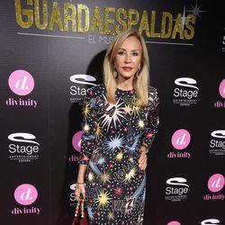 Carmen Lomana en el estreno del musical 'El Guardaespaldas'