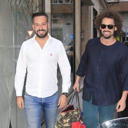 Kike Calleja y José Antonio León acuden al cumpleaños de María Patiño en Madrid