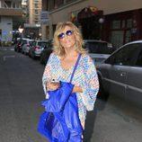 Lydia Lozano acude al cumpleaños de María Patiño en Madrid