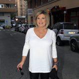 Terelu Campos acude al cumpleaños de María Patiño en Madrid