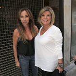 María Patiño y Terelu Campos en el cumpleaños de la primera en Madrid