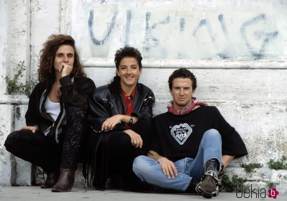 Nacho Cano, José María Cano y Ana Torroja