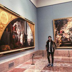 Beltrán Lozano en el Museo del Prado