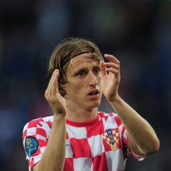 Modric orgulloso de permanecer en la selección croata