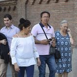 La madre de Antonio Carmona visita a su hijo en el hospital