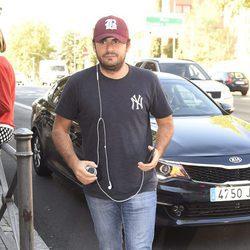 Emiliano Suárez visita a Antonio Carmona en el hospital