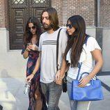 Juan Carmona y Sara Verdasco visitan a Antonio Carmona en el hospital