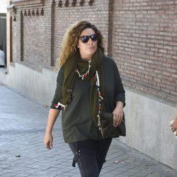 Estrella Morente visita a Antonio Carmona en el hospital