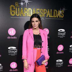 Laura Matamoros en la presentación de 'El Guardaespaldas'