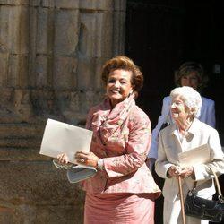 Carmen Sevilla tras recibir la Medalla de Oro al Mérito en las Bellas Artes