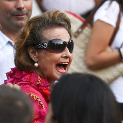 Carmen Sevilla muy feliz