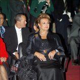 Carmen Sevilla, muy elegante en el SICAB de Sevilla