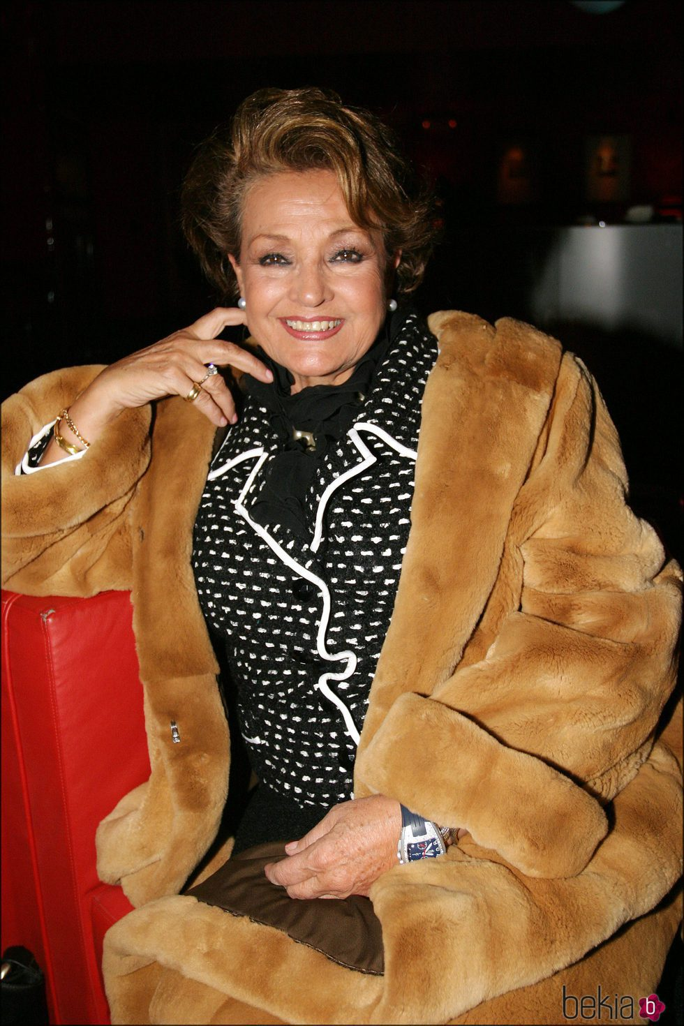La actriz Carmen Sevilla