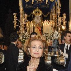 Carmen Sevilla en la Semana Santa de Marbella