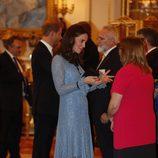 Kate Middleton presume de embarazo en su reaparición en el Día Mundial de la Salud Mental