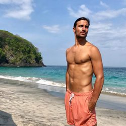 Jaime Astrain luce cuerpazo en bañador en Bali