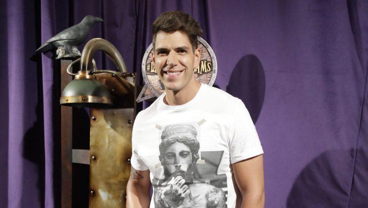 Diego Matamoros en el estreno de 'La familia Addams' en Madrid