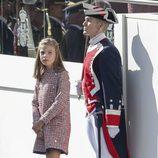 La Infanta Sofía en el Día de la Hispanidad 2017