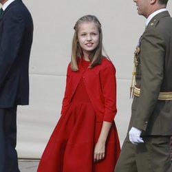 La Princesa Leonor en el Día de la Hispanidad 2017
