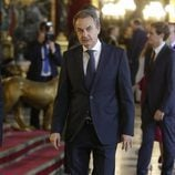 José Luis Rodríguez Zapatero en la recepción del Día de la Hispanidad 2017