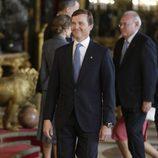 El Duque de Calabria en la recepción del Día de la Hispanidad 2017