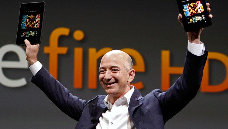 Jeff Bezos, CEO y fundador de Amazon