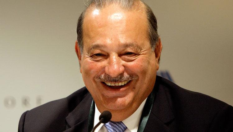 Carlos Slim Helu, magnate de las telecomunicaciones