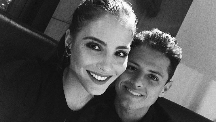 Andrea Duro y Chicharito más enamorados que nunca