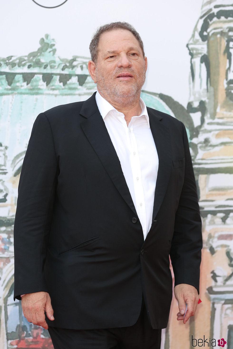 El productor Harvey Weinstein en Mónaco