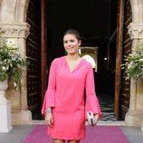 Cayetana Rivera en la boda de Sibi Montes
