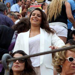 Cayetana Rivera en una corrida de toros