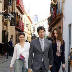 Cayetana Rivera con Cayetano Rivera y Eva González