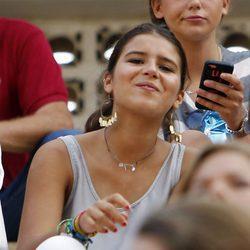 Cayetana Rivera, sonriente en un festejo taurino