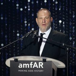 Harvey Weinstein en la Gala amfAR